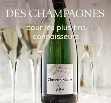 Des champagnes pour les plus fins connaisseurs